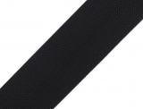 Gurtband 40mm - schwarz