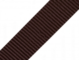 Gurtband 40mm - braun