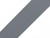 Gurtband 40mm - grau