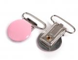 "Nuggi Clip - Metall ""rosa"""