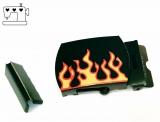 """Gürtelschnalle 30mm """"Flamme"""""""