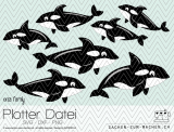 "Plotter-Datei ""orca family"""