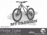 """Plotter-Datei """"Mountainbike"""" No1"""
