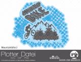 """Plotter-Datei """"Mountainbike"""" No2"""