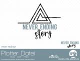 """Plotter-Datei """"never ending"""" #1"""