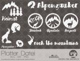 """Plotter-Datei """"Alpenzauber"""" #1"""