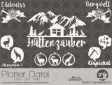 """Plotter-Datei """"Alpenzauber"""" #2"""