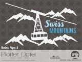 """Plotter-Datei """"Swiss Alps"""" #2"""