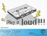 "Plotter-Datei ""play it loud #2"""
