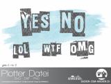 "Plotter-Datei ""yes&no #2"""