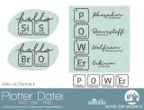 "Plotter-Datei ""Chemie #3"""