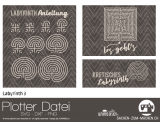 "Plotter-Datei ""Labyrinth #3"""