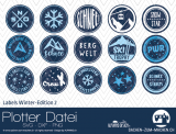 "Plotter-Datei ""Labels Winter-Edition"" #2"