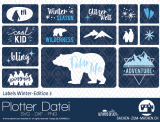 "Plotter-Datei ""Labels Winter-Edition"" #3"