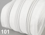 1m endlos-Reissverschluss 3mm inkl. 5 St. Zipper - 101