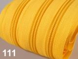 1m endlos-Reissverschluss 3mm inkl. 5 St. Zipper - 111