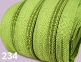 1m endlos-Reissverschluss 3mm inkl. 5 St. Zipper - 234