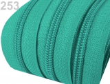 1m endlos-Reissverschluss 3mm inkl. 5 St. Zipper - 253
