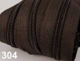 1m endlos-Reissverschluss 3mm inkl. 5 St. Zipper - 304