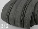 1m endlos-Reissverschluss 5mm inkl. 3 St. Zipper - 312
