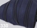 1m endlos-Reissverschluss 3mm inkl. 5 St. Zipper - 330
