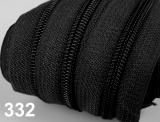 1m endlos-Reissverschluss 3mm inkl. 5 St. Zipper - 332