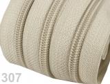 1m endlos-Reissverschluss 5mm inkl. 3 St. Zipper - 307