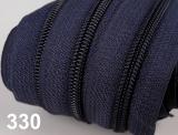 1m endlos-Reissverschluss 5mm inkl. 3 St. Zipper - 330