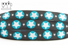 "Webband ""stars - blue"""