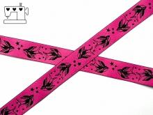 """Webband """"Schwalbe"""" - pink"""